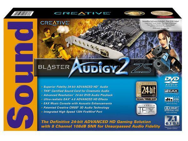 Creative Sound Blaster Audigy 2 ZS