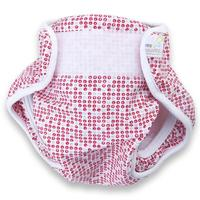 Real Nappies Splash Wrap Red - Medium (6-9kg)