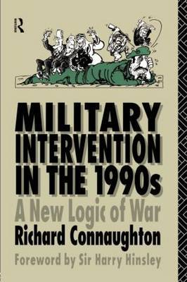 Military Intervention in the 1990s by Richard M. Connaughton image