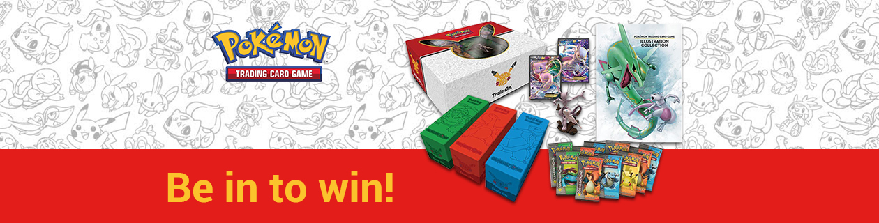 Be in to win a Pokemon Super Premium Collection!