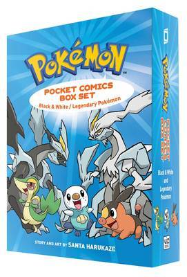 Pokemon Pocket Comics Box Set by Santa Harukaze