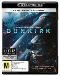 Dunkirk (4K UHD + Blu-ray) on UHD Blu-ray image