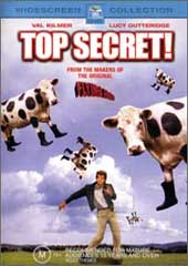 Top Secret on DVD