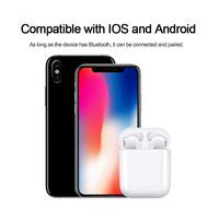 TWS Mini Bluetooth 5.0 Earphone Wireless Charging Earbuds image