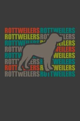 Rottweilers by Kaiasworld Journal Dog Dogs Notebook