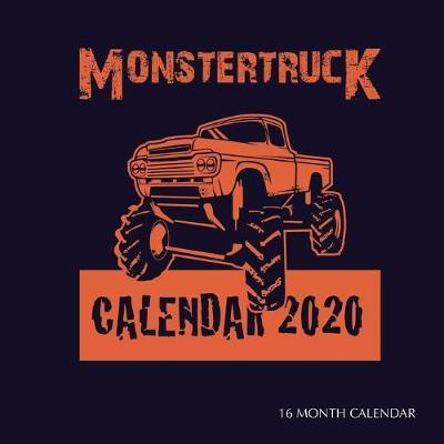 Monster Trucks Calendar 2020 Golden Print Book In Stock Buy Now At Mighty Ape Nz