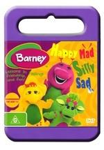 Barney - Happy Mad Silly Sad on DVD