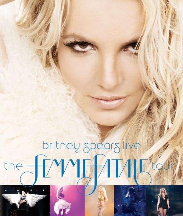 Britney Live: The Femme Fatale Tour on DVD