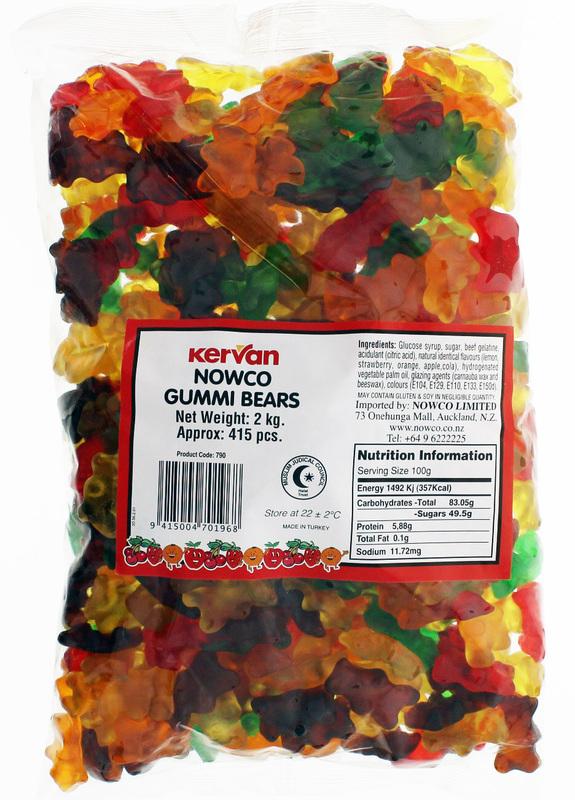 Kervan Gummi Bears (2kg)