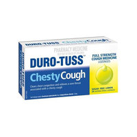Duro-Tuss Chesty Lozenges - Sugarfree Lemon (24's)