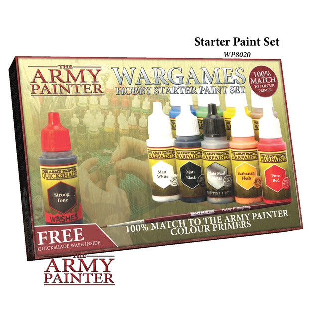 Army Painter: Warpaints - Starter Paint Set