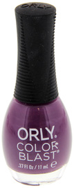 Orly Color Blast Matte Satin Nail Color - Purple (11ml)