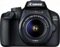 Canon EOS 3000D 18MP DSLR Camera (EFS 18-55 III)
