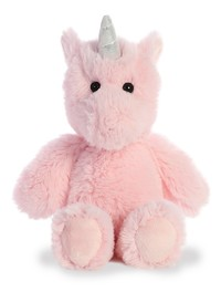 Aurora: Cuddly Friends Plush - Pink Unicorn (Small)