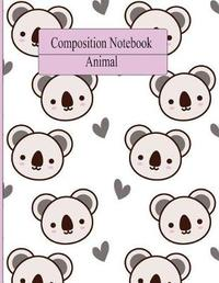 Composition Notebook Animal by Jj Jonhson
