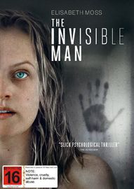 The Invisible Man on DVD image