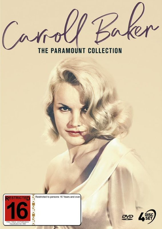 Caroll Baker: The Paramount Collection on DVD