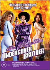 Undercover Brother on DVD
