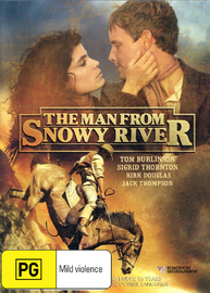 Man From Snowy River, The - The Movie on DVD image