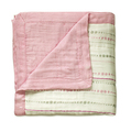 Aden + Anais Beads and Solid Rose Bamboo Dream Blankets