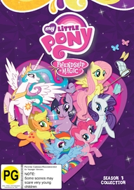 My Little Pony: Friendship Is Magic Season 3 Boxset on DVD