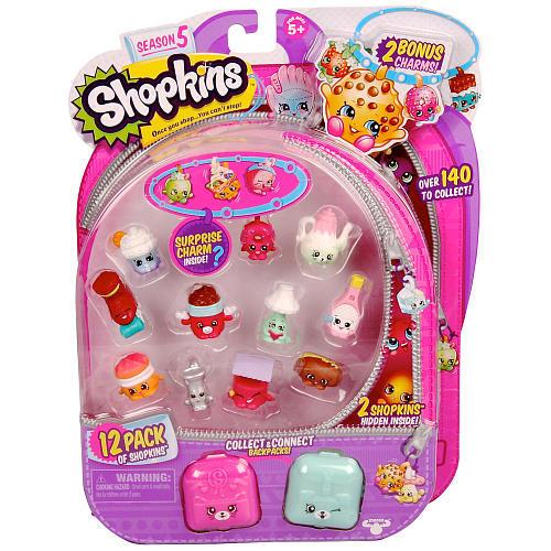Shopkins: 12 Pack Season 5 Playset