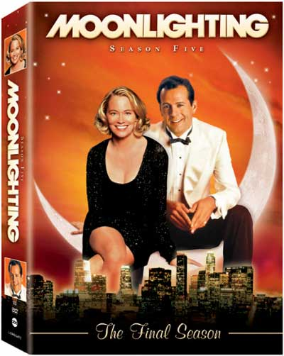 Moonlighting - Complete Season 5: The Final Season (4 Disc Set) on DVD image