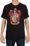 Harry Potter Gryffindor Emblem T-Shirt (X-Large)