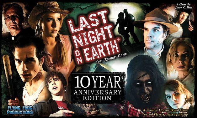 Last Night on Earth - 10th Anniversary Edition