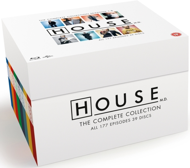 House: The Complete Seasons 1-8 on Blu-ray