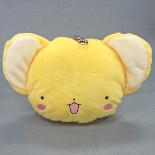 Card Captor Sakura Clear Card:Charamaru Plush Passcase - Kerochan -