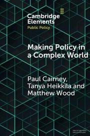 Elements in Public Policy by Paul Cairney