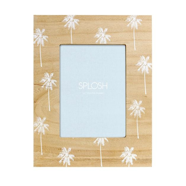 Splosh: Tranquil Wooden Palm Frame