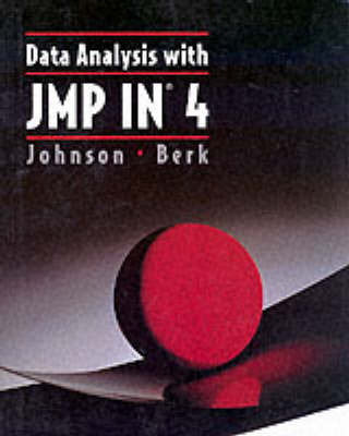 Data Analysis with JMP-IN 4.0 by Thomas , M. Johnson image