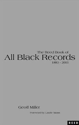 The Reed Book of All Black Records 1884-2003 by G. Miller, Jr. image