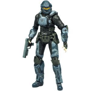 Halo Series 7 Action Figure - Oni Operative Dare with Helmet