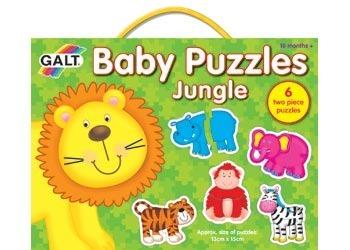 Galt Baby Puzzles - Jungle (Set 6)