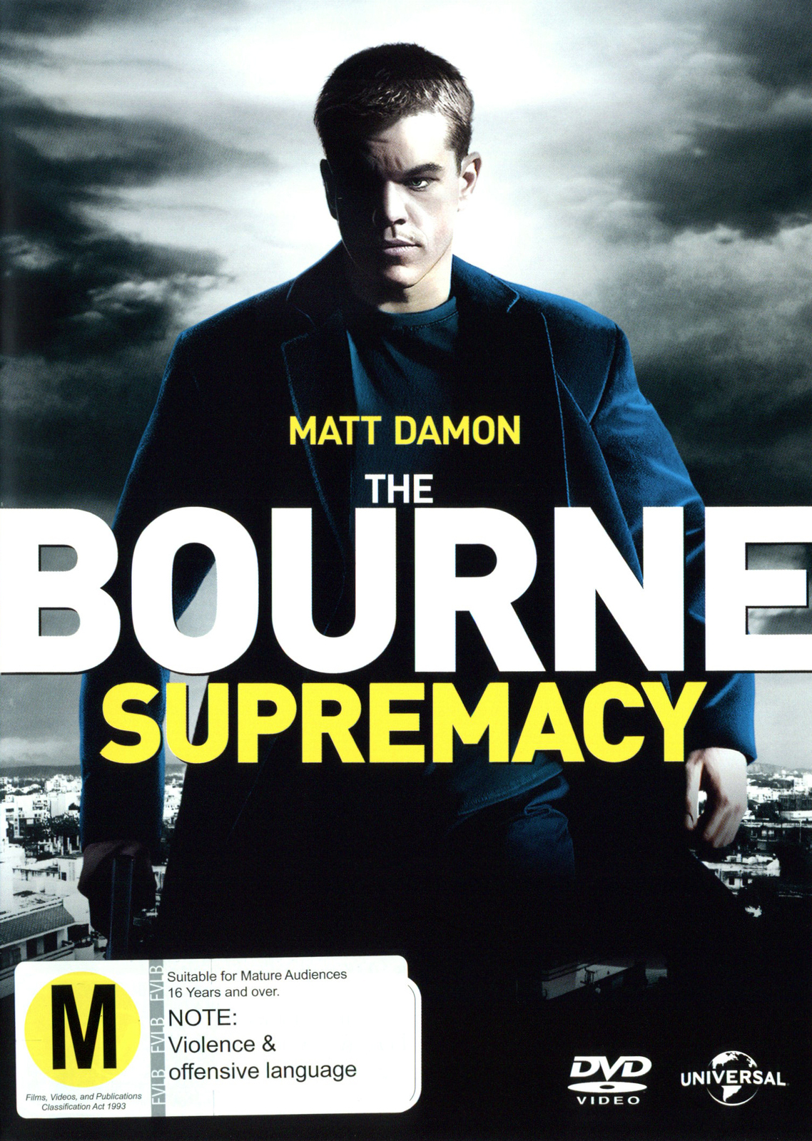 The Bourne Supremacy on DVD image