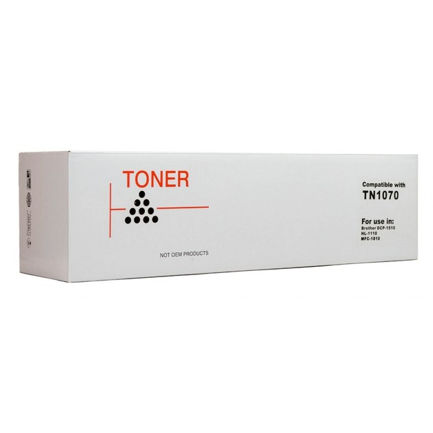 Icon: Compatible Brother TN1070 - Black Toner Cartridge