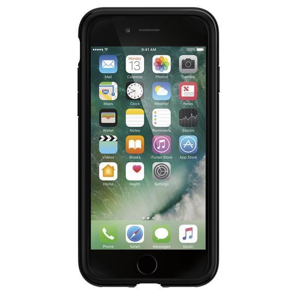 Spigen iPhone 7 Rugged Armor Case - Black image