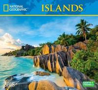 National Geographic Islands 2018 Wall Calendar