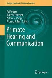 Primate Hearing and Communication image