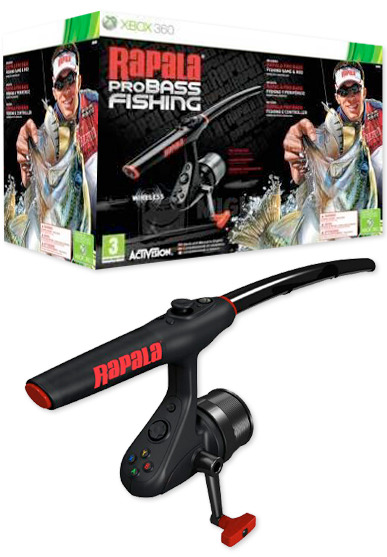 Rapala Pro Bass Fishing With Wireless Rod Reel Xbox 360 Buy