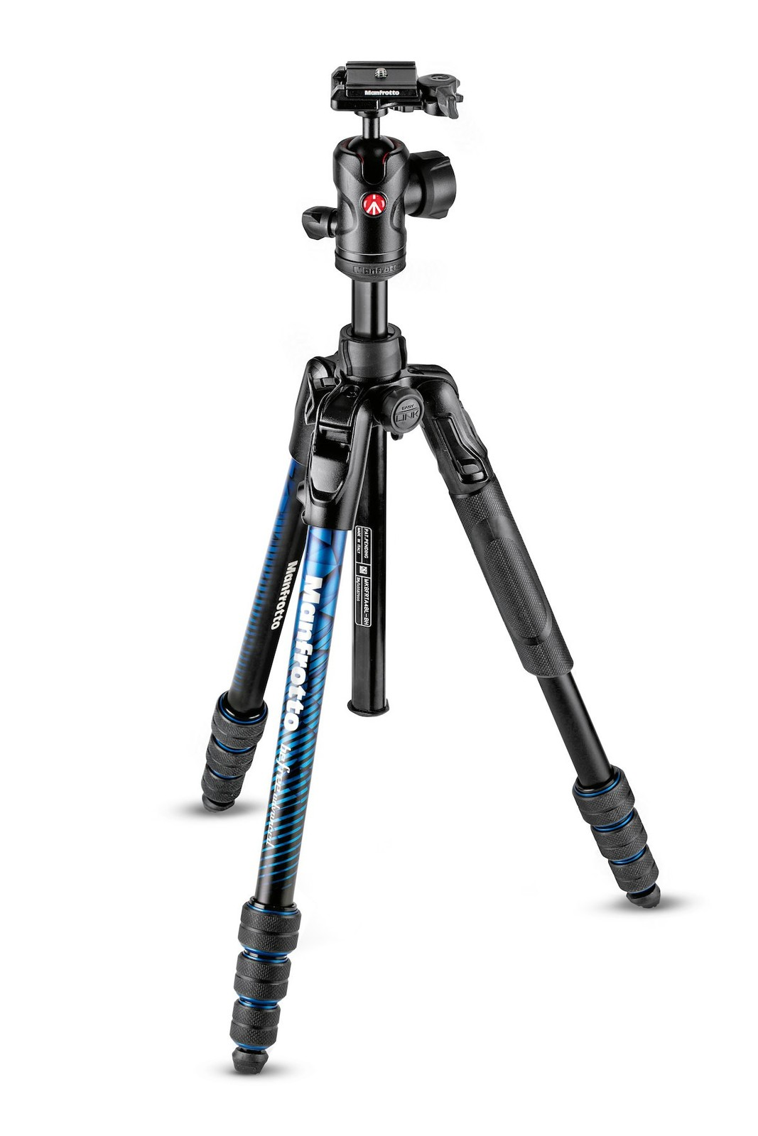 Manfrotto BeFree ADV AL TWT Blue Kit BH image