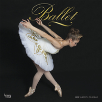 Ballet 2019 Square Wall Calendar by Inc Browntrout Publishers
