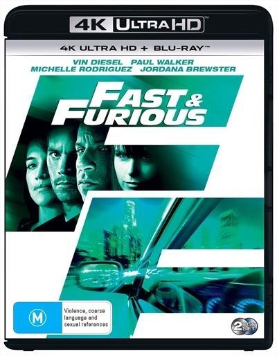 Fast & The Furious 4 on UHD Blu-ray