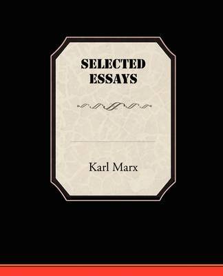 Selected Essays by Karl Marx image