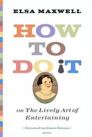 How to Do it by Elsa Maxwell image