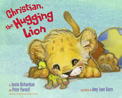 Christian, the Hugging Lion by Justin Richardson image