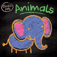Chalk Art Animals image